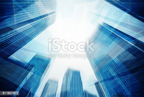 istock Abstract building 911607872