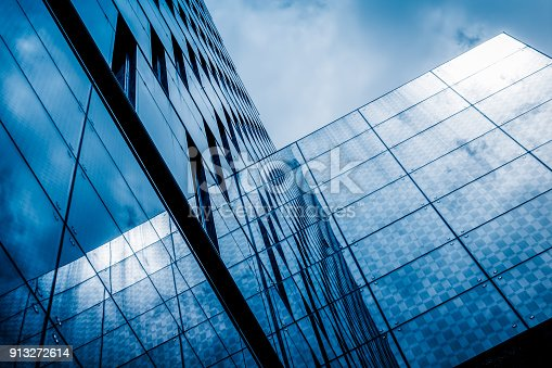 Construction Industry, Glass - Material, Reflection, Industry, Window