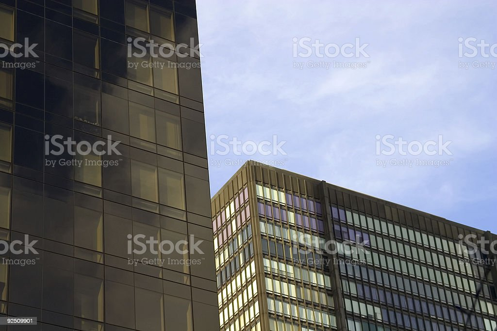 abstract buildings royalty-free stock photo