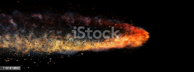1191600199 istock photo Abstract bullet 1191819852