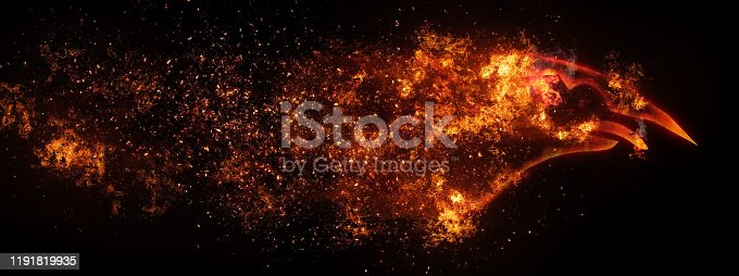 1191600199 istock photo Abstract bullet 1191819935