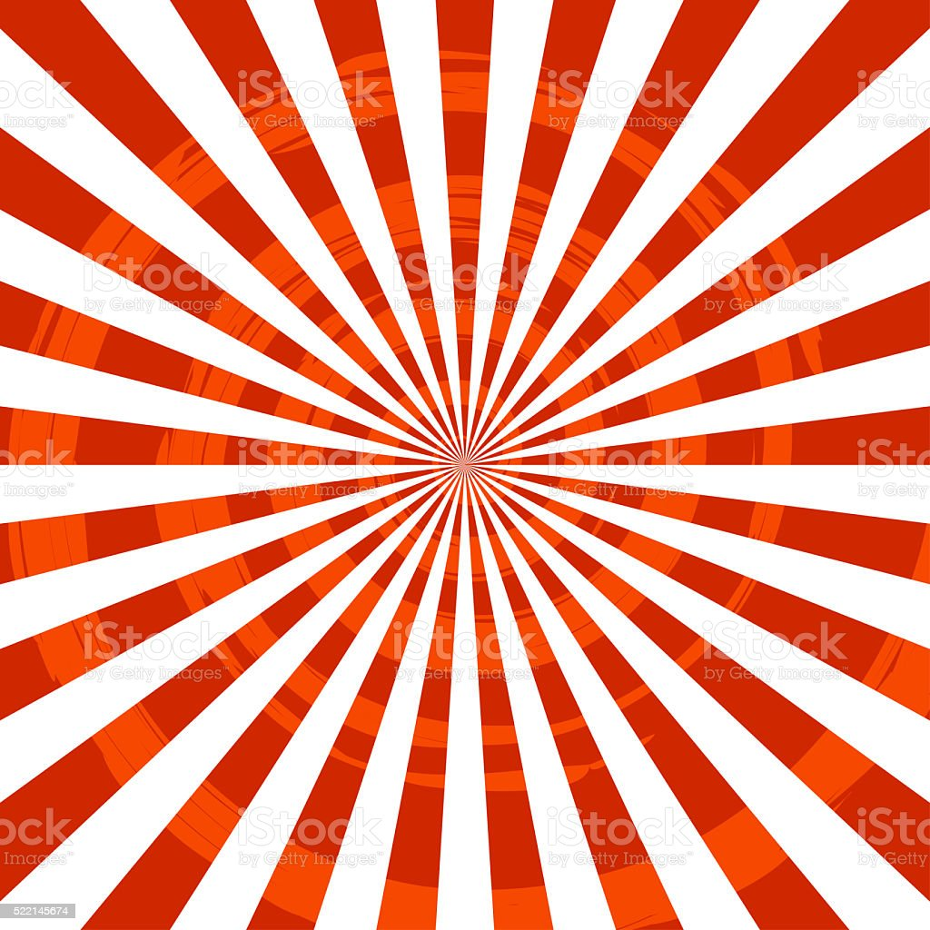 Abstract Burst Ray Background Red stock photo