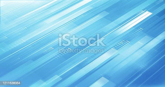 istock Abstract Business Background - Light Blue - Shiny, Elegant, Design 1211538354