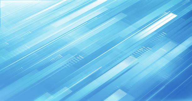 Abstract Business Background - Light Blue - Shiny, Elegant, Design stock photo