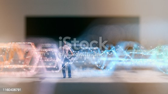 istock Abstract business background 1160408791