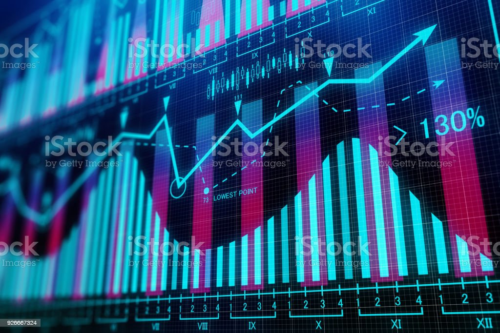 Abstract business background royalty-free stock photo