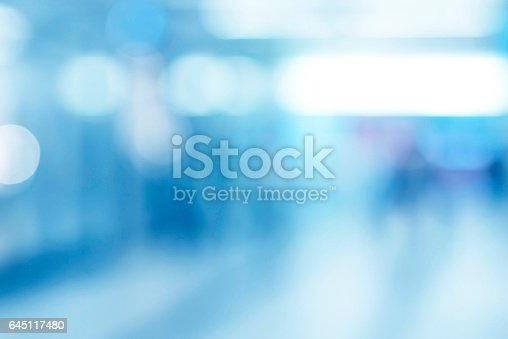 istock Abstract business building light background 645117480
