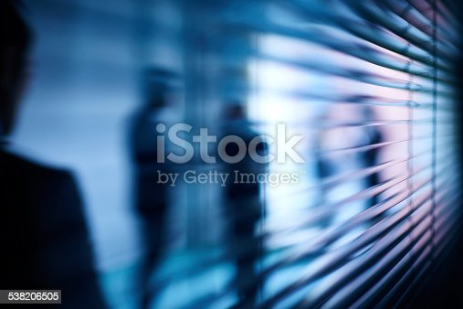 istock Abstract business interaction 538206505