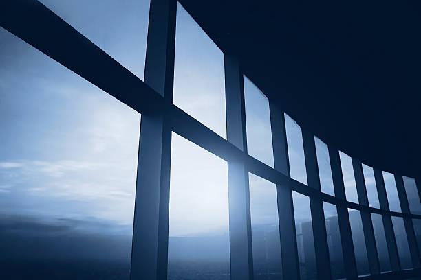 abstract business interior - fönsterrad bildbanksfoton och bilder