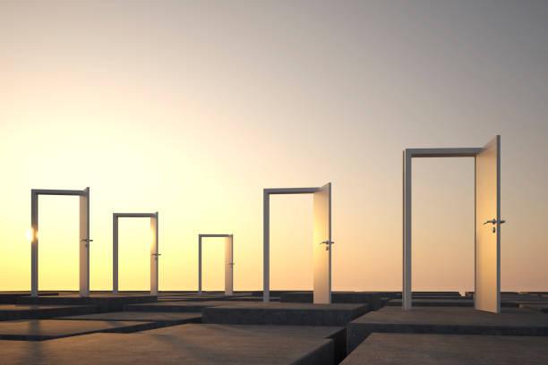 bedrijfsobjecten abstract als symbool teamwork - begrippen stockfoto's en -beelden