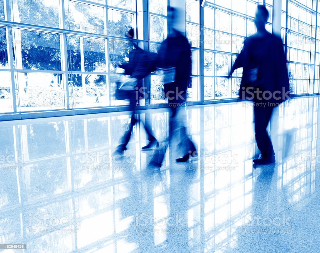 abstract business people stock photo