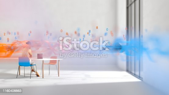 istock Abstract business 1160408863