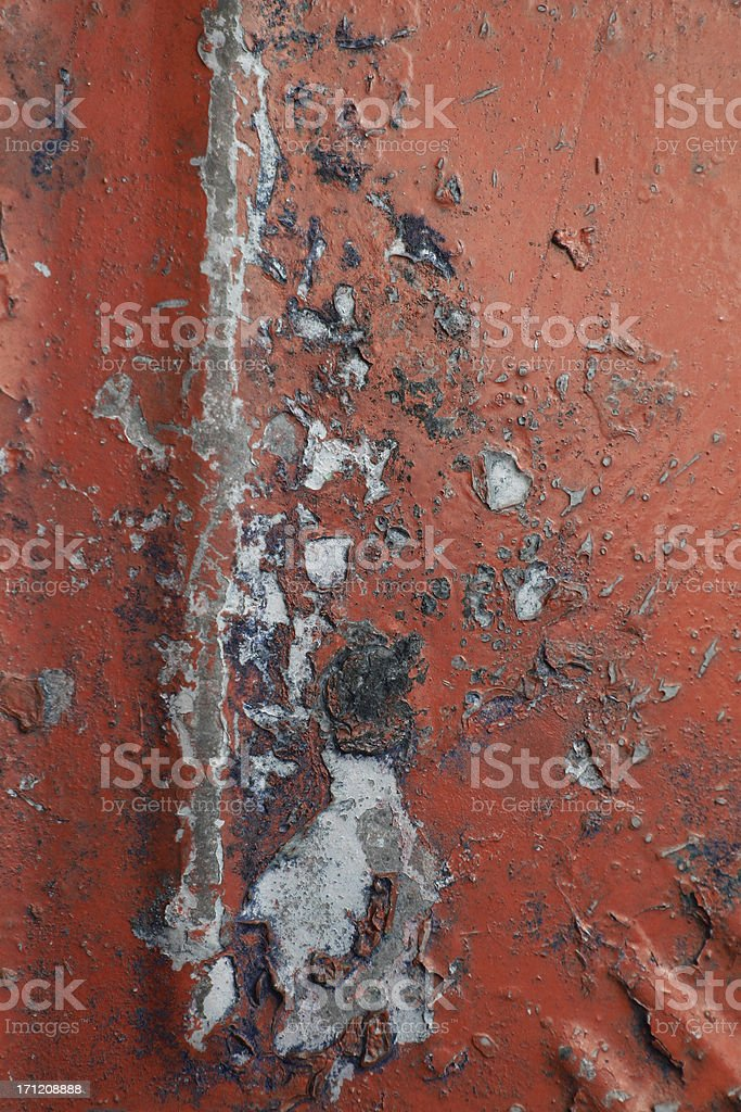 Abstract - busted Metal background royalty-free stock photo