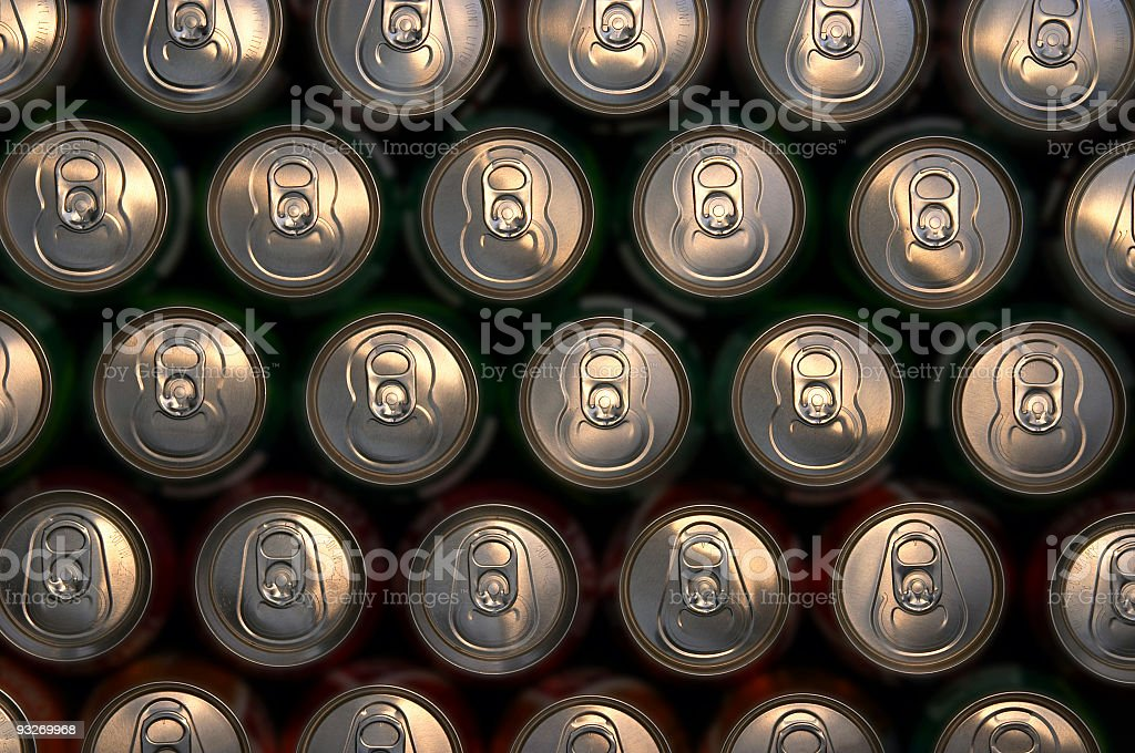 Abstract Cans #1 royalty-free stock photo