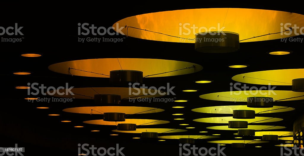 Abstract ceiling royalty-free stock photo