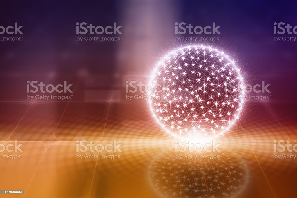 Abstract celebration background royalty-free stock photo