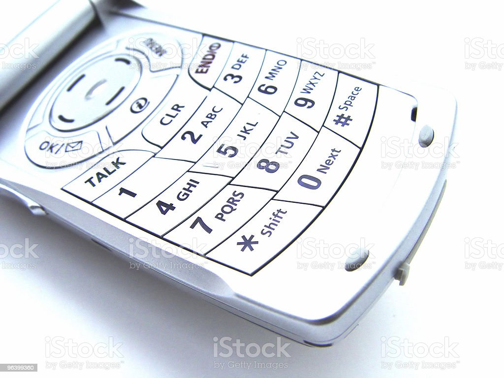 Abstract Cellular Phone - Royalty-free Abstract Stock Photo