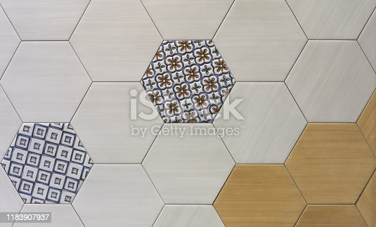istock abstract ceramic mosaic tile pattern for the kitchen 1183907937