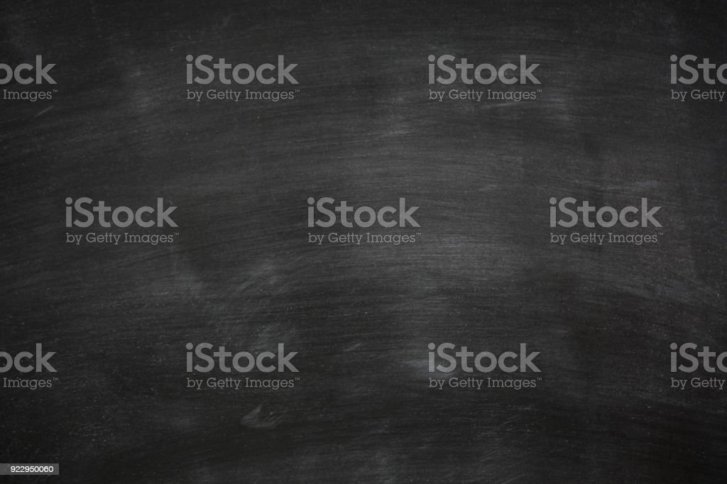 Abstract Chalk rubbed out on blackboard for background stock photo