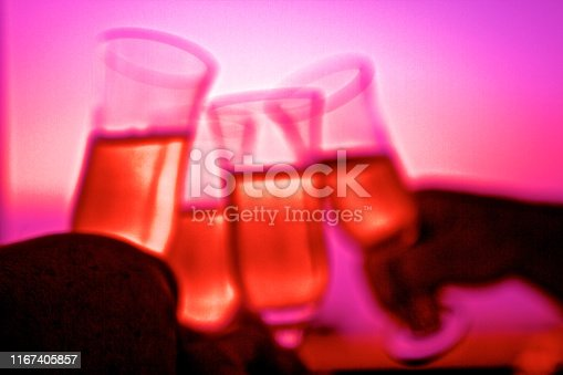1144550840 istock photo Abstract Champagne Toast 1167405857
