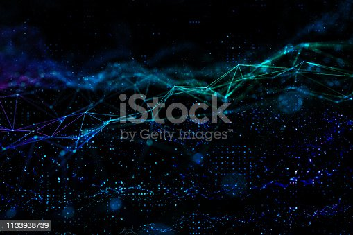 istock Abstract chaotic background 1133938739