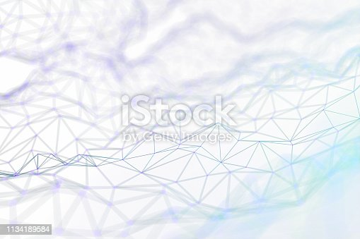 istock Abstract chaotic background 1134189584