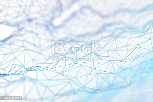 istock Abstract chaotic background 1134189664