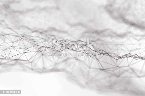 istock Abstract chaotic background 1134190030
