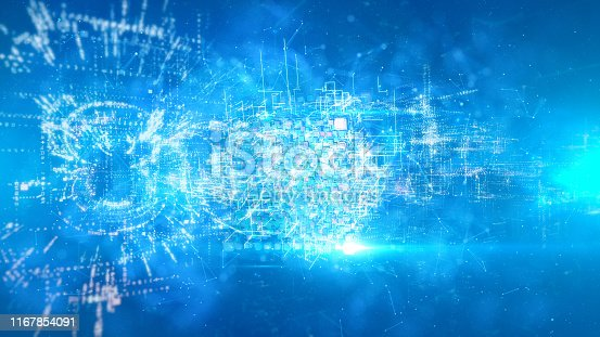 629677830 istock photo Abstract chaotic background 1167854091