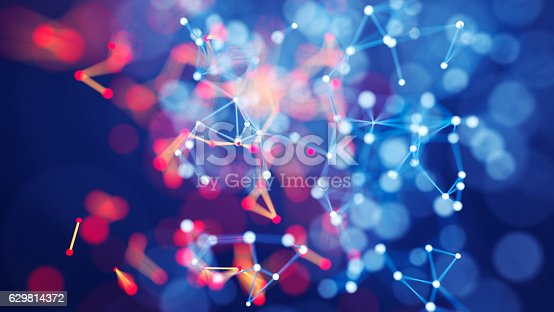 istock Abstract chaotic background 629814372