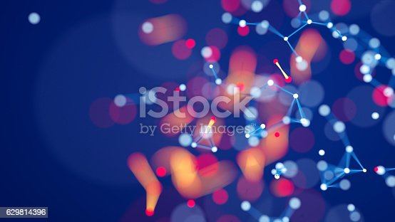 istock Abstract chaotic background 629814396