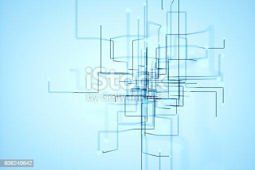 istock Abstract chaotic background 636249642