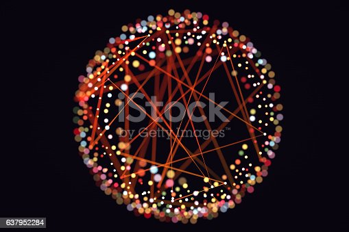 istock Abstract chaotic background 637952284