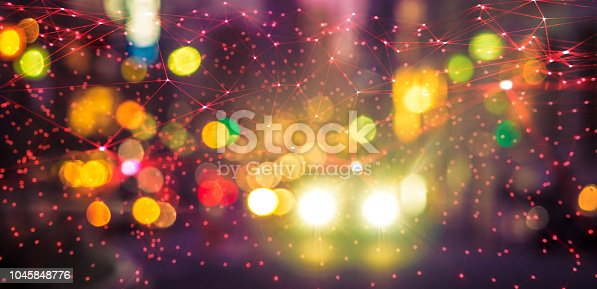 1045841966istockphoto Abstract chaotic city ai car background 1045848776