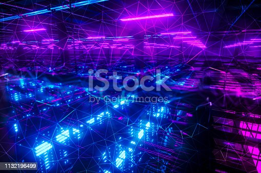 1045841966istockphoto Abstract chaotic city ai car background 1132196499