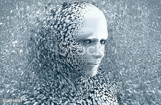 istock abstract character shattered into pieces 510674920