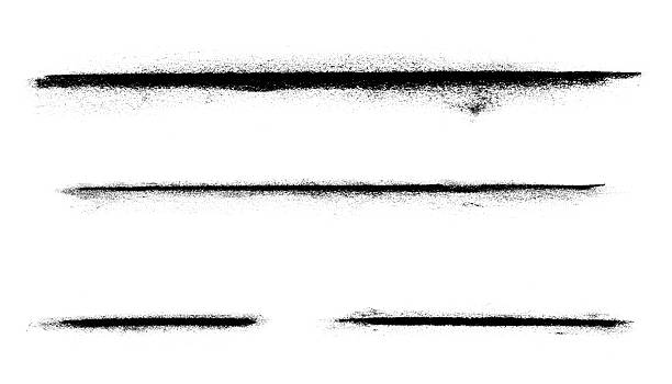 abstract charcoal line markings - charcoal drawing stock photos and pictures