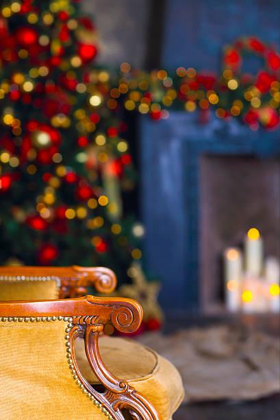 abstrakte weihnachten hintergrund mit unscharf gestellt lichter - weihnachten de stock-fotos und bilder