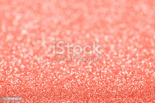 1083023980 istock photo Abstract christmas colored in color of year 2019 Living Coral background. Bright Macro color 16-1546 background. 1078093926