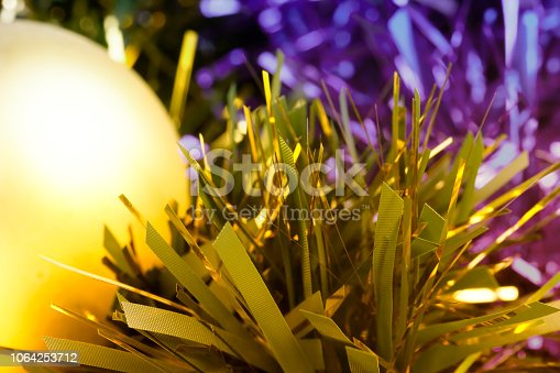 istock Abstract Christmas decoration background 1064253712