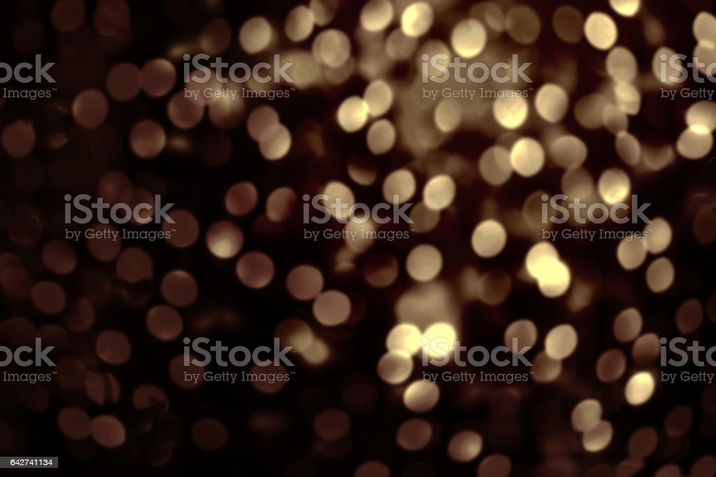 Abstract Christmas Glitter Vintage Lights Background Dark Gold Glitter Defocused Wallpaper With Sparkling Bokeh Stock Photo Download Image Now Istock