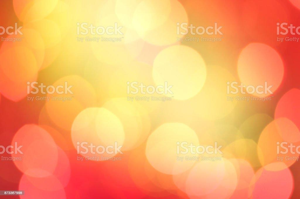 Abstracta fondo de luces de Navidad. Oro Resumen antecedentes festivo. - foto de stock