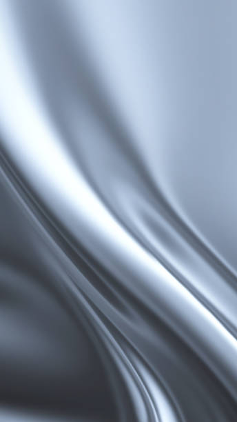 abstract chrome stock photo