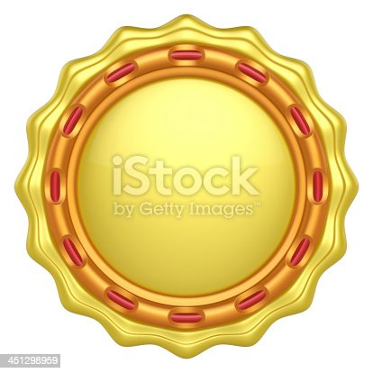 1125351850 istock photo Abstract circle label for your logo 451298959