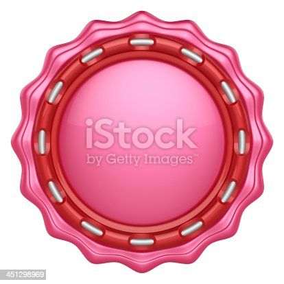 1125351850 istock photo Abstract circle label for your logo 451298969