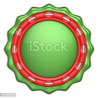 1125351850 istock photo Abstract circle label for your logo 451663039