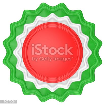 1094574474 istock photo Abstract circle label. 180570084