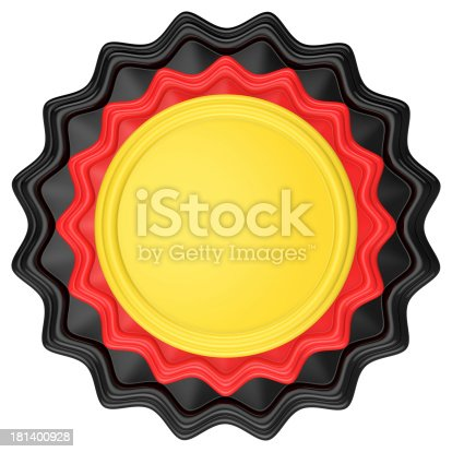 1125351850 istock photo Abstract circle label. 181400928