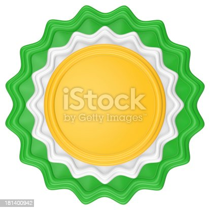 1094574474 istock photo Abstract circle label. 181400942