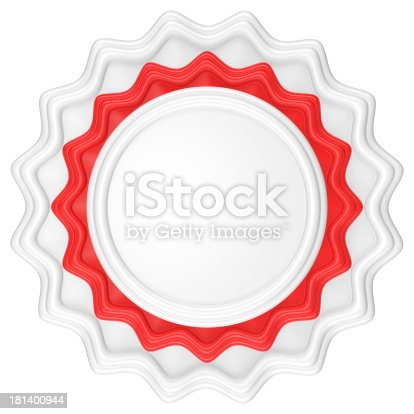 1094574474 istock photo Abstract circle label. 181400944